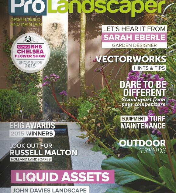 Featured in Pro Landscaper Magazine