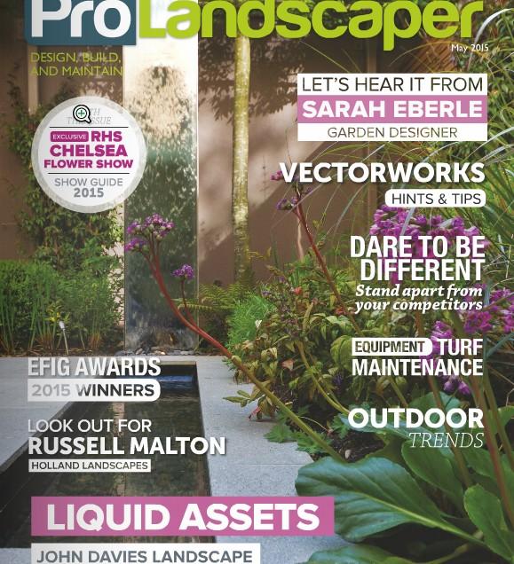 Featured in Pro Landscaper Magazine
